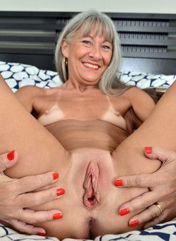 This old granny still radiate sexual..