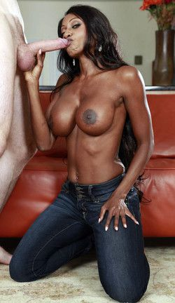 Busty black mom takes him aside and..