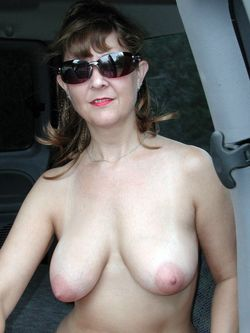 Big tits mature nudists outdoor and in..