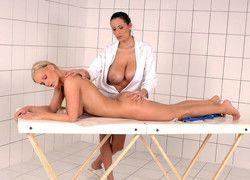 Big tits lesbians Sensual Jane and..