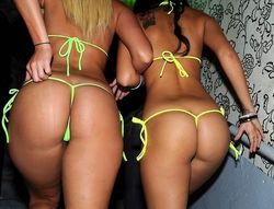Hot bikini babes get it on in vip sex..