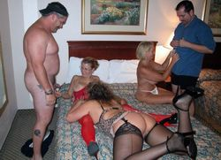 Mad orgy of western Germany, dissolute..