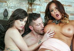 Mike's trouser snake dominate maid,..