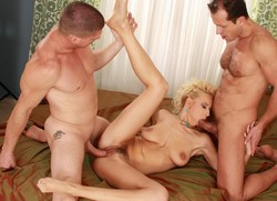 Charming blonde from DDF network takes..