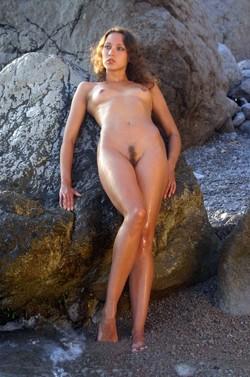 Crimean nudist beach and sexy leggy..