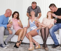Hardcore family orgy from..